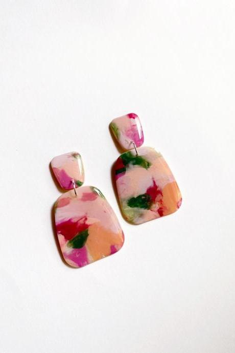 Love in Spring - Austen Polymer Clay Earrings
